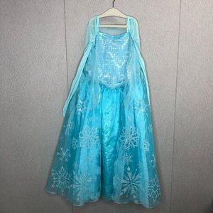 Disney Frozen Elsa Snowflake Dress